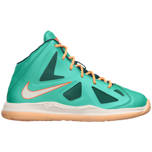 Nike Lebron X - Boys' Preschool - Atmoic Teal/Dark Atomic Teal/Sail/Total Orange