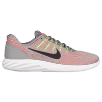 Nike LunarGlide 8 - Men's - Grey / Orange