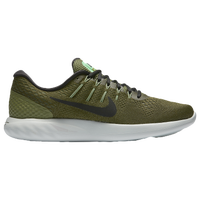 Nike LunarGlide 8 - Men's - Olive Green / Black