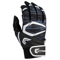 Cutters Power Control 2.0 Batting Gloves - Men's - Black / White
