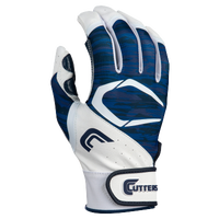 Cutters Power Control 2.0 Batting Gloves - Men's - White / Navy