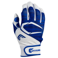 Cutters Power Control 2.0 Batting Gloves - Men's - White / Blue