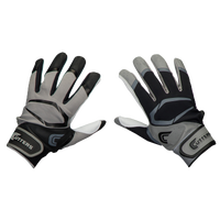 Cutters Power Control 2.0 Yin Yang Batting Glove - Men's - Black / Grey