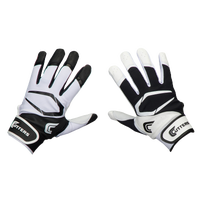 Cutters Power Control 2.0 Yin Yang Batting Glove - Men's - Black / White