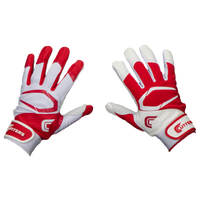 Cutters Power Control 2.0 Yin Yang Batting Glove - Men's - Red / White