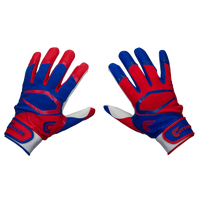 Cutters Power Control 2.0 Yin Yang Batting Glove - Men's - Red / Blue