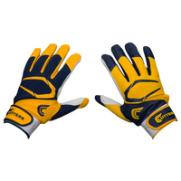 Cutters Power Control 2.0 Yin Yang Batting Glove - Men's - Navy / Gold