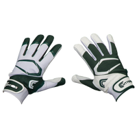 Cutters Power Control 2.0 Yin Yang Batting Glove - Men's - Dark Green / White