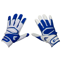Cutters Power Control 2.0 Yin Yang Batting Glove - Men's - Blue / White