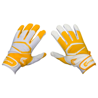 Cutters Power Control 2.0 Yin Yang Batting Glove - Men's - White / Gold