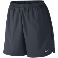 "Nike Dri-FIT 7"" Challenger Shorts - Men's - Navy / Black"