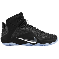 Nike LeBron XII Ext - Men's -  LeBron James - Black / Silver