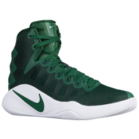 Nike Hyperdunk 2016 - Men's - Dark Green / White