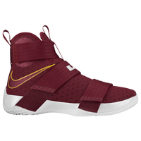 Nike LeBron Soldier 10 - Men's -  LeBron James - Maroon / Gold