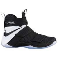 Nike LeBron Soldier 10 - Men's -  LeBron James - Black / White