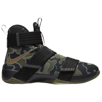 Nike LeBron Soldier 10 - Men's -  LeBron James - Black / Olive Green