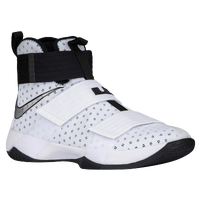 Nike LeBron Soldier 10 - Men's -  Lebron James - White / Silver