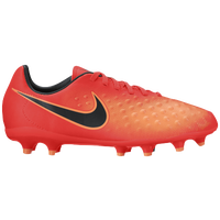 Nike Magista Opus II FG - Boys' Grade School - Orange / Black