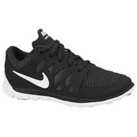 Nike Free 5.0 - Boys' Preschool - Black / Grey