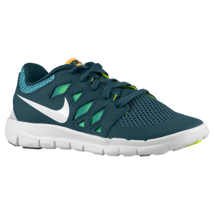 Nike Free 5.0 - Boys' Preschool - Nightshade/Turbo Green/Volt/White