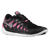 Nike Free 5.0 - Girls' Grade School - Black / Light Green
