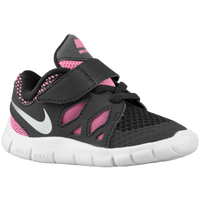 Nike Free 5.0 - Girls' Toddler - Black / Pink