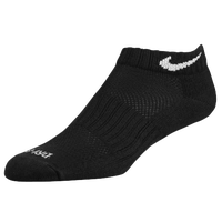 Nike 6 PK Dri-Fit Low Cut Sock - Black / White