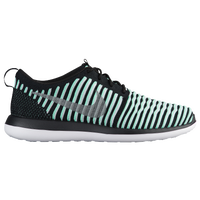 Nike Roshe Two Flyknit - Girls' Grade School - Light Green / Silver