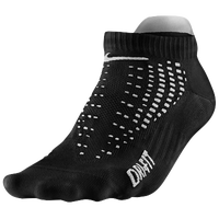 Nike Anti-Blister Lightweight Low Cut Tab Socks - Black / White