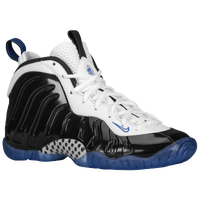 Nike Little Posite One - Boys' Grade School - Black / White