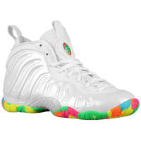 Nike Little Posite One - Boys' Grade School - White / Multicolor