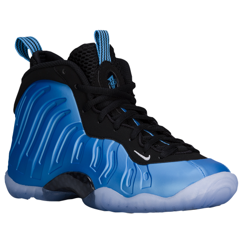 Nike Little Posite One Boys Grade School Basketball Shoes University Blue  White Black high-quality