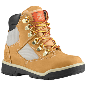 "Timberland 6"" Field Boot - Boys' Preschool - Wheat Nubuck"