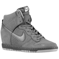 Nike Dunk Sky Hi - Women's - Grey / Grey