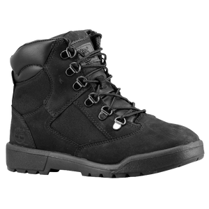 "Timberland 6"" Field Boot - Boys' Toddler - Black-Nubuck"