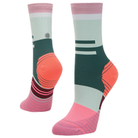 Stance Ciele Athletique Run Crew - Women's - Pink / Multicolor