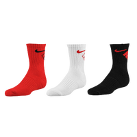 Nike 3 Pack Crew Socks - Boys' Preschool - Red / White
