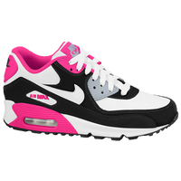 Nike Air Max 90 2007 - Girls' Grade School - White / Black