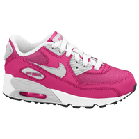 Nike Air Max 90 - Girls' Preschool - Pink / Silver