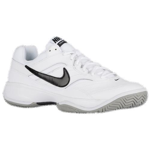 Nike Court Lite - Men's - Tennis - Shoes - White/Medium Grey/Black
