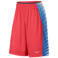 Nike Elite Wing Shorts - Men's - Red / Light Blue