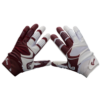 Cutters Rev Pro 2.0 Yin Yang Receiver Gloves - Men's - Maroon / White