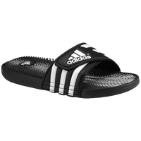adidas Santiossage QD Slide - Men's - Black / White