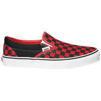Vans Classic Slip On - Men's - Red / Black