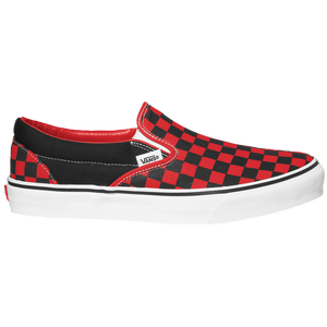 Vans Classic Slip On - Men's - Black/Formula One