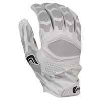 Cutters Rev Pro 3D 2.0 Receiver Gloves - Men's - White / Black