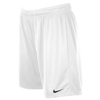 Nike Team Equalizer Knit Shorts - Women's - All White / White