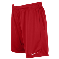 Nike Team Equalizer Knit Shorts - Women's - Red / Red
