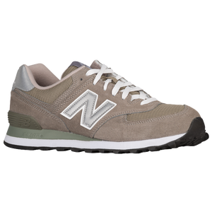 New Balance 574 - Men's - Grey/Silver