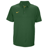 Nike Team Sideline Dry Elite Polo - Men's - Dark Green / Yellow